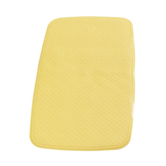 SPA-коврик противоскользящий 38х72 см Capri, цвет желтый