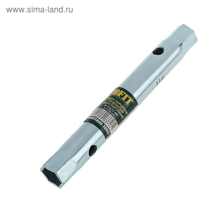 Ключ торцевой FIT, трубчатый двухсторонний, 10 х 12 мм
