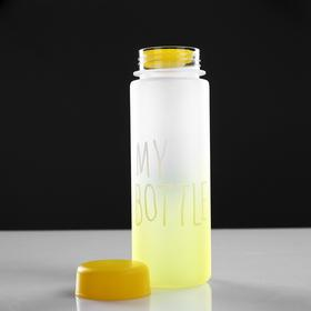 Бутылка для воды 'My bottle' с винтовой крышкой, 500 мл, градиент, микс, 6х19 см Ош