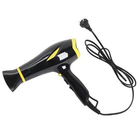 Фен ENERGY EN-864, 230 Вт, 2 скорости, 3 температуры, черно-желтый