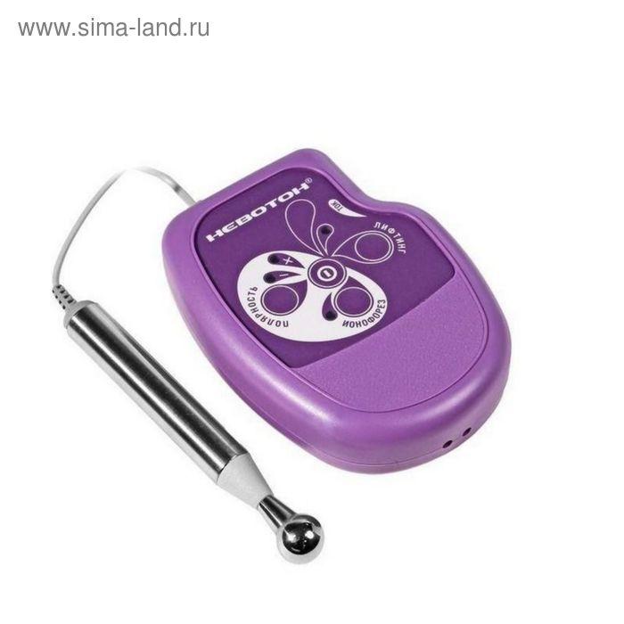 Электромиостимулятор Невотон АК-201, 1000 мкс, 25 мин/5 мин, фиолетовый