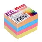 Блок бумаги для записей, на склейке, Calligrata, 6 х 5 х 4 см, 80 г/м2, цветной, пастель