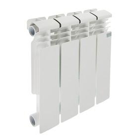 Радиатор биметаллический STI, 350 х 80 мм, 4 секции