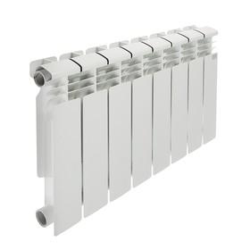 Радиатор биметаллический STI, 350х80 мм, 8 секции - фото 1