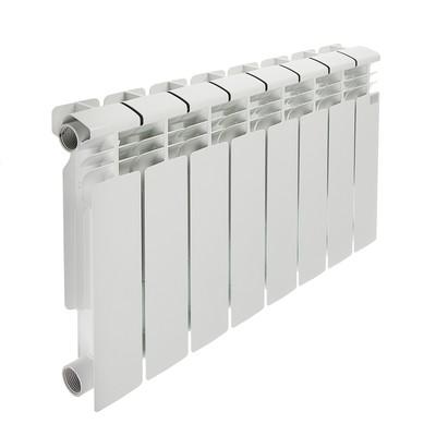 Радиатор биметаллический STI, 350х80 мм, 8 секции