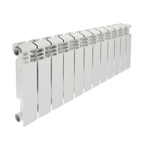 Радиатор биметаллический STI, 350х80 мм, 12 секции