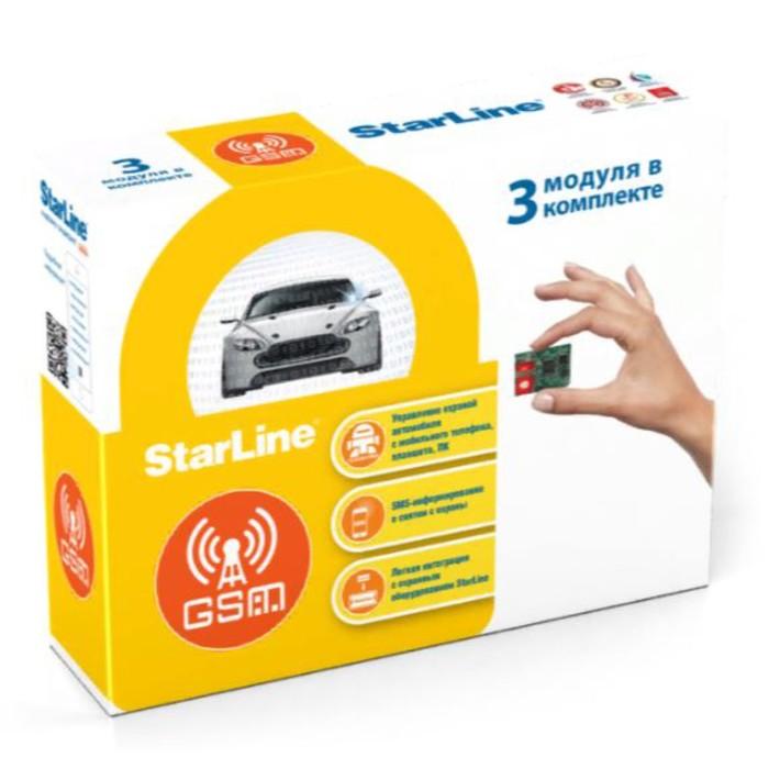 GSM-адаптер Starline GSM-5 Мастер, набор 3 шт