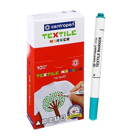 Маркер для ткани Centropen 2739, 1.8 мм, зелёный Ош
