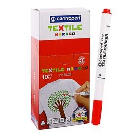 Маркер для ткани, Centropen 2739, 1.8 мм, красный Ош