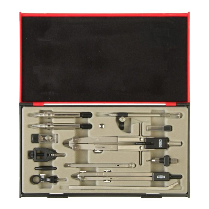 Готовальня Koh-I-Noor 9452, 13 предметов, профессиональная, большая