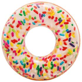 Круг для плавания «Пончик радужный», 99 × 25 см, от 9 лет, 56263NP INTEX Ош