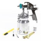 Краскораспылитель STELS AS 802 HVLP, профессиональный, всасывающего типа, сопло 1,4 мм