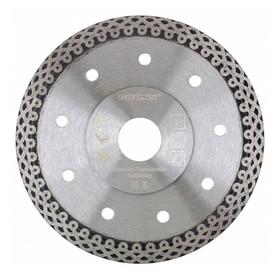 Диск алмазный GROSS, 230 × 22,2 мм, тонкий, сплошной (Jaguar), мокрое резание