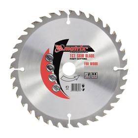 Пильный диск по дереву MATRIX Professional, 140 х 20 мм, 20 зубьев, + кольцо, 16/20 Ош