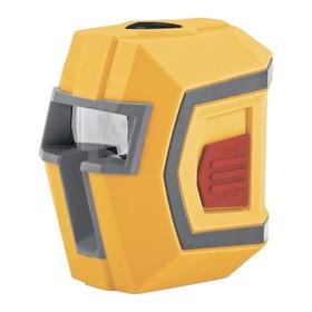 """Лазерный уровень DENZEL LX1, 10 м, ±0,5 мм/1 м, 635 нм, 1/4"""""""