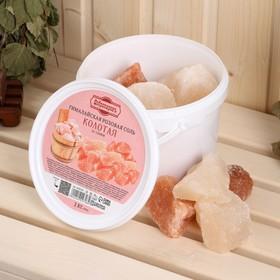 Гималайская розовая соль 'Добропаровъ', колотая, 50-120мм, 2 кг Ош