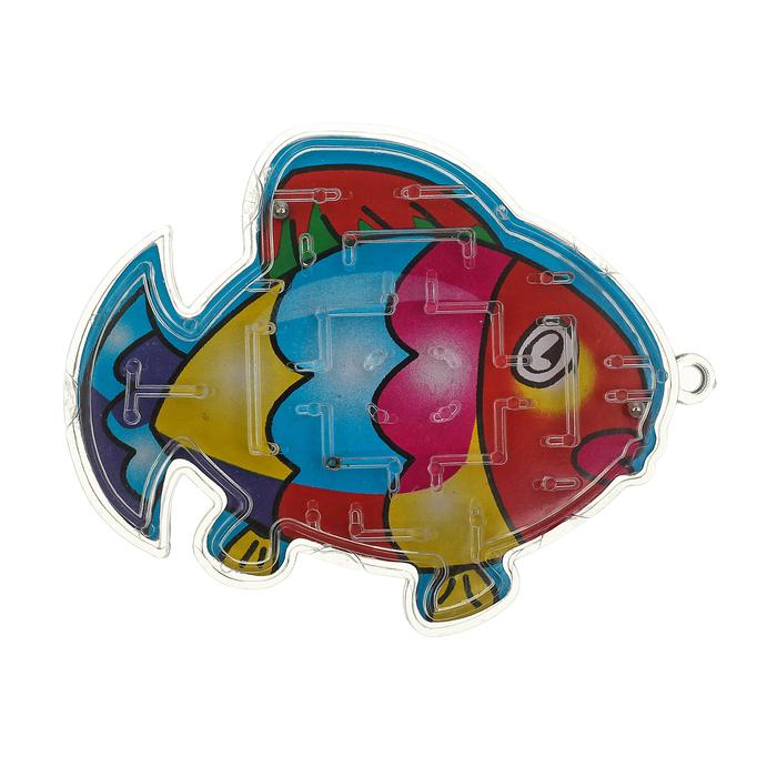Головоломка Рыбка, цвета МИКС