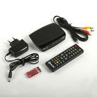 Приставка для цифрового ТВ D-COLOR DC702HD, FullHD, DVB-T2, HDMI, RCA, USB, черная