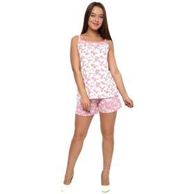 Пижама женская (майка, шорты) П-451 цвет МИКС, р-р 42