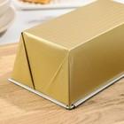 Форма для выпечки Доляна «Джоанна. Хлеб», 21×11,5×7,5 см, антипригарное покрытие, цвет МИКС - Фото 3