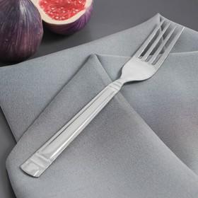 Вилка столовая Доляна «Варт», 18,4 см, толщина 1,2 мм