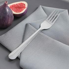 Вилка столовая Доляна «Нордик», 17,4 см, толщина 1,2 мм