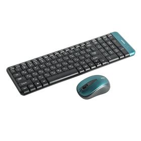 Комплект клавиатура и мышь Smartbuy 222358AG-K, беспроводной, мембранный, USB, черный Ош