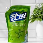 Средство для мытья посуды CJ Lion Chamgreen «Зелёный чай», 1200 мл