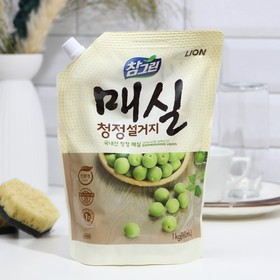 Средство для мытья посуды CJ Lion Chamgreen Японский абрикос, 960мл