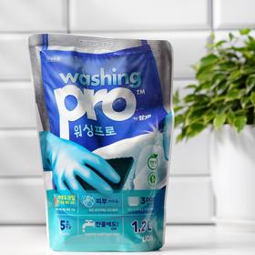 Средство для мытья посуды CJ Lion Washing Pro, 1,2 л