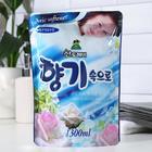 Кондиционер для белья Sandokkaebi Soft Aroma Aqua Blue «Свежесть океана», запасной блок, 1,3 л