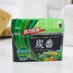 Дезодорант-поглотитель неприятных запахов Kokubo, для холодильника (овощная камера), 150 г