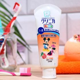Детская зубная паста Lion Clinica Kids «Персик», 60 г
