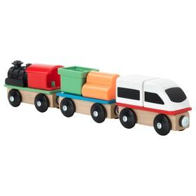 Поезд ЛИЛЛАБУ, 3 вагона