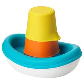 Игрушечный набор для ванны «Лодка», 3 предмета СМОКРИП