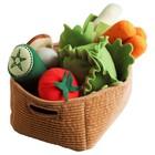 Мягкая игрушка «Овощи», 14 предметов