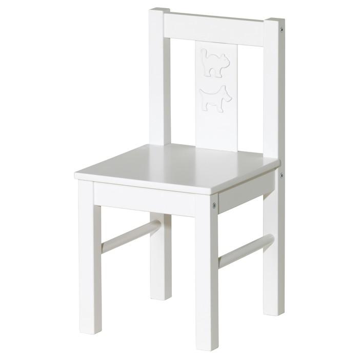 Детский стул КРИТТЕР, белый