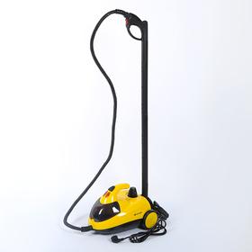 Пароочиститель Kitfort КТ-908-2, 1500 Вт, 1.5 л, желтый Ош