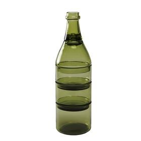 Набор из 5-ти ёмкостей для аперитива l'apro зеленый