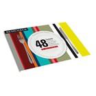 Набор из 48 сервировочных ковриков stripes