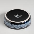 Миска керамическая с орнаментом, 150 мл, бежево-черная - Фото 4