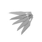 Лезвия для макетного ножа FIT, 5 шт, скошенные, 6 мм