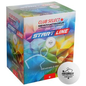 Мяч теннисный CLUB SELECT 1*, 120 мячей в упаковке, белые