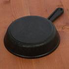 Сковорода порционная 14,5 см, с чугунной ручкой - Фото 2