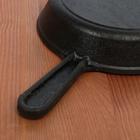 Сковорода порционная 14,5 см, с чугунной ручкой - Фото 3