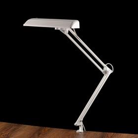 Фитосветильник светодиодный «Дельта П-С32Ф», на металлической струбцине, 12 Вт, 220 В, 50 Гц, белый Ош