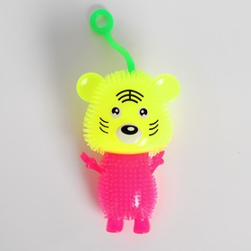 Ёжка «Мишка», световой, цвета МИКС Ош