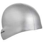 Шапочка для плавания силиконовая METAL, M0535 05 0 12W, серебряный