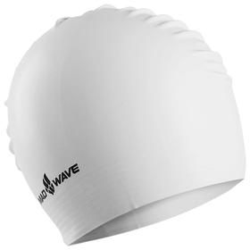 Шапочка для плавания латексная SOLID, White M0565 01 0 02W Ош