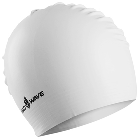 Шапочка для плавания латексная SOLID SOFT, White M0565 02 0 02W Ош